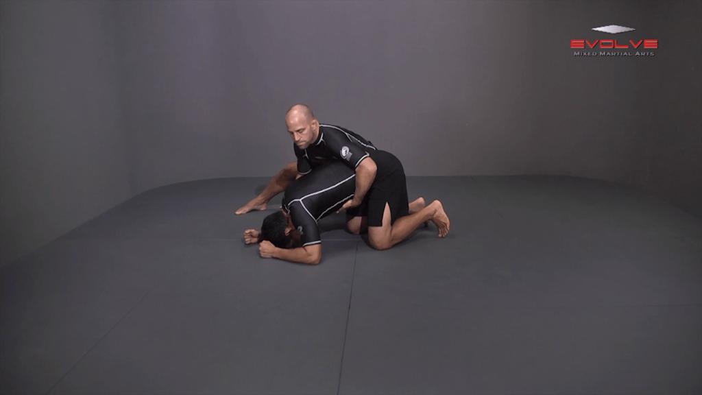 Single Leg Defense Against Basic Takedown