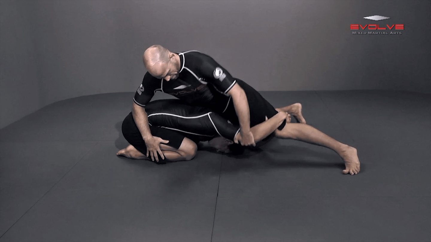 Single Leg Defense Hip Switch To High Leg Over