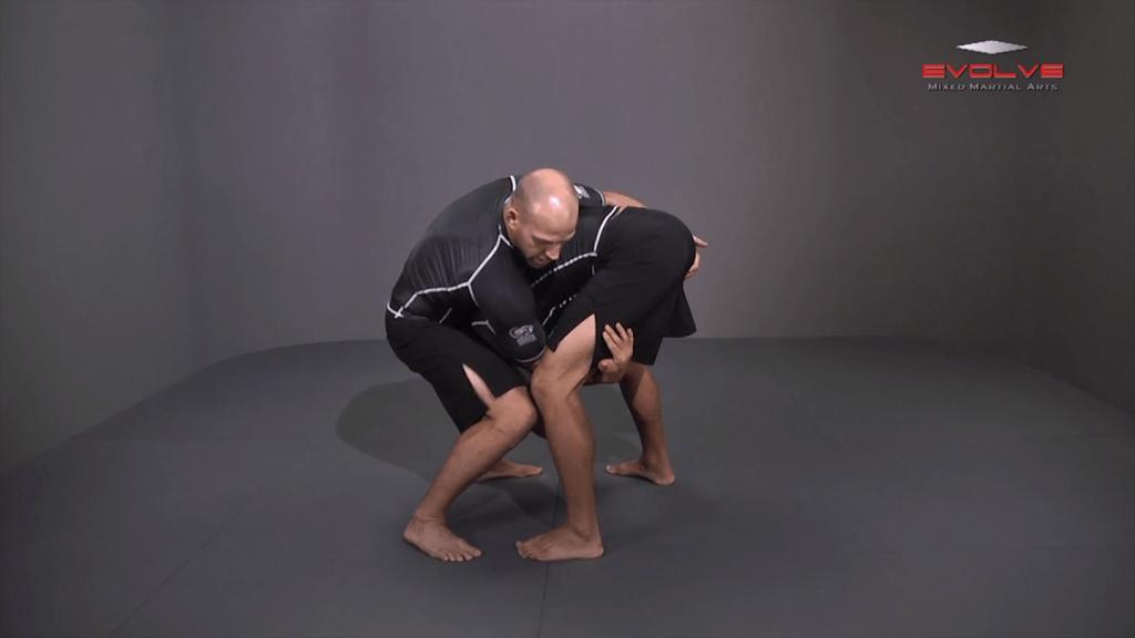 Single Leg Defense To Crotch Roll