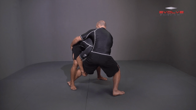 Single Leg Defense To Inside Trip