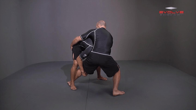 Single Leg Defense To Inside Trip