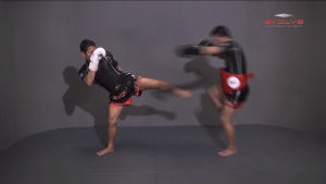 Sliding Push Kick