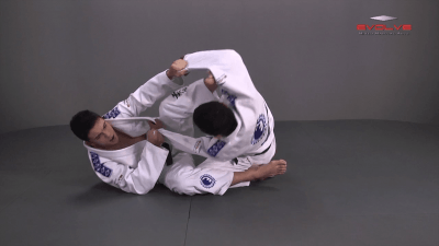 Spider Guard To Scissor Sweep