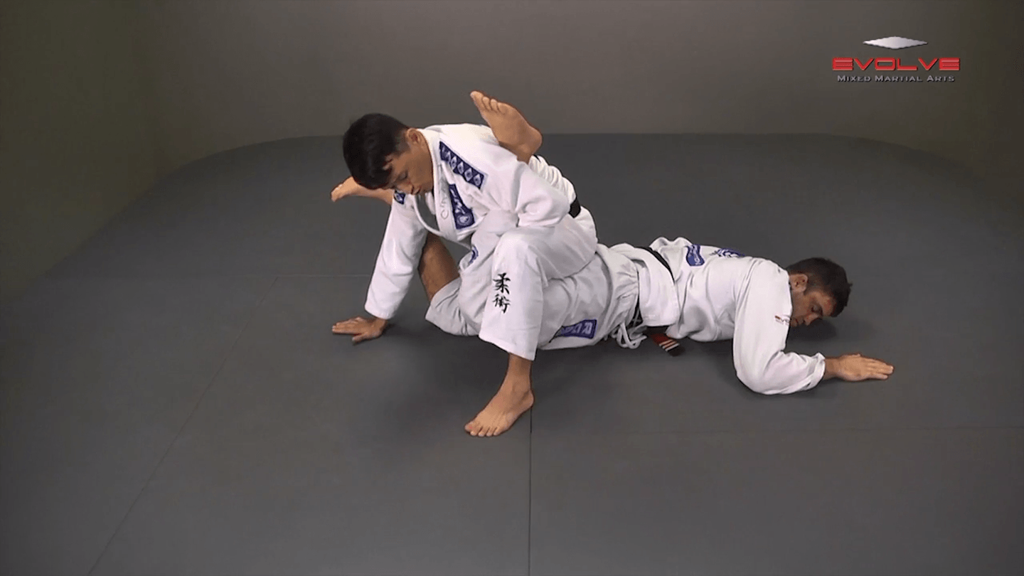 Stacking The Guard To Ankle Lock