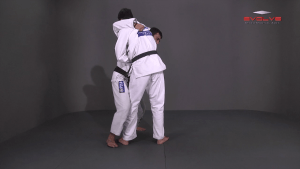 Standing Guillotine Escape To North-South Position