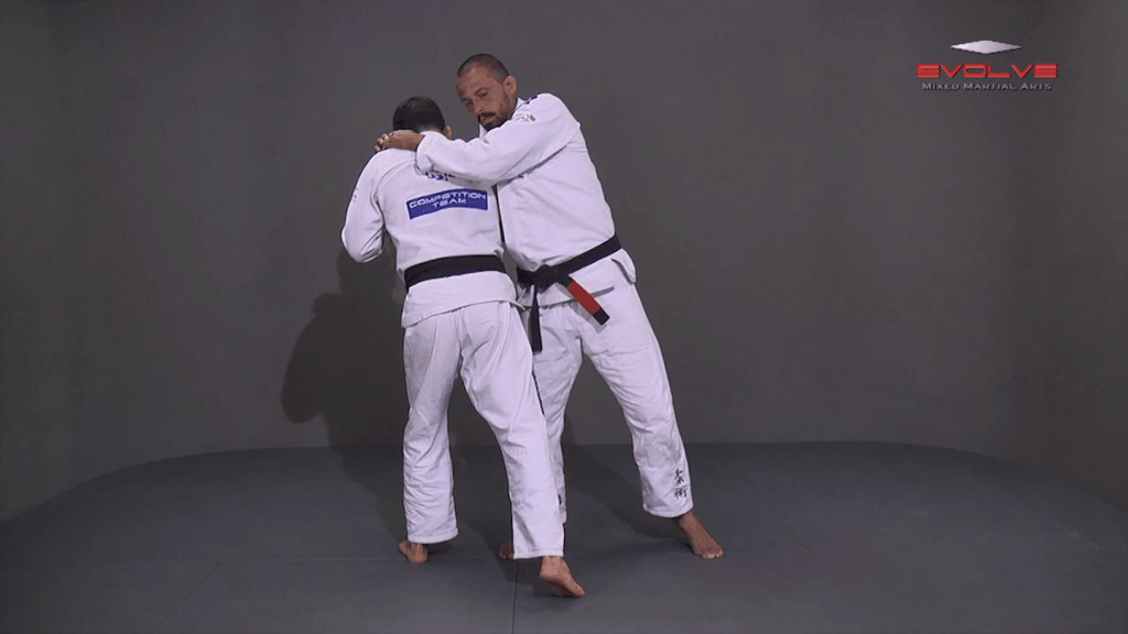Standing Rear Choke Defense