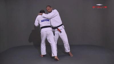 Standing Rear Choke Defense