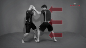 Striking Setup To Double Leg Takedown