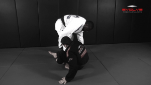 Sweep From De La Riva Guard Variation
