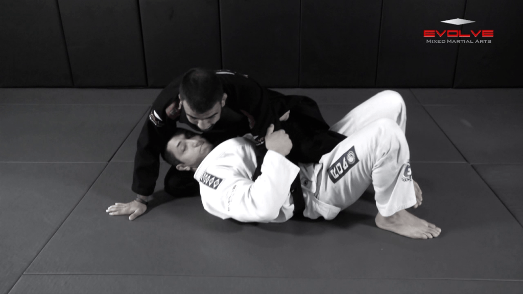 Sweep From Deep Half Guard Variation