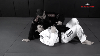 Sweep From Deep Half Guard Variation 2