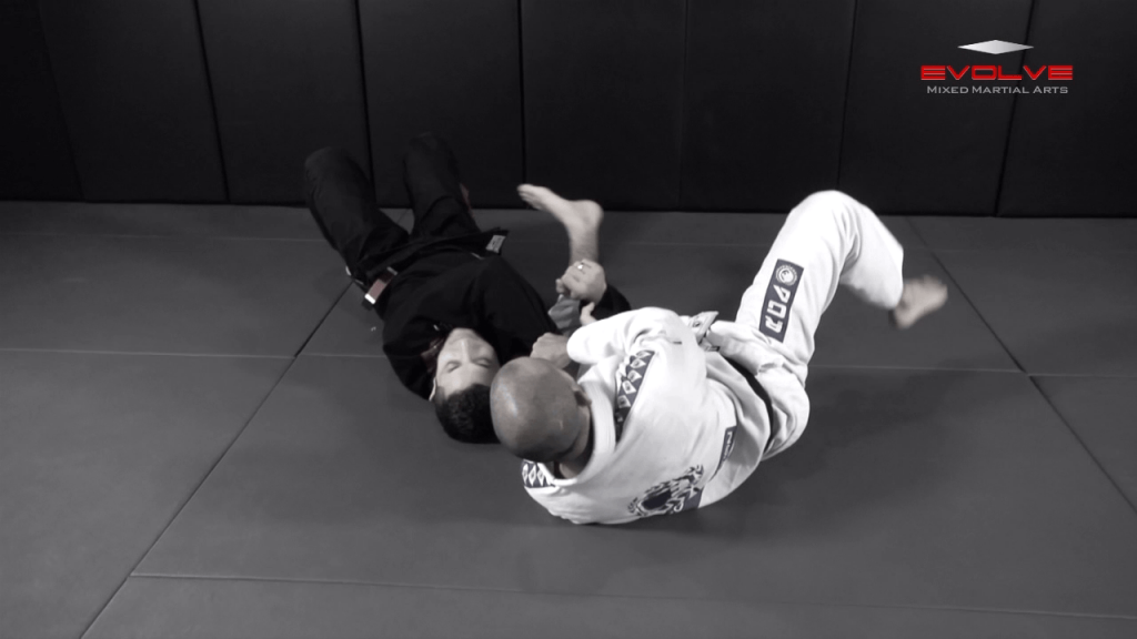 Sweep From Open Guard To Side Control