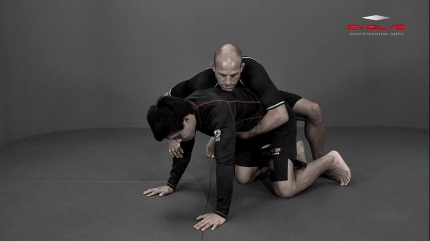 Top Position Outside Leg Cradle