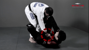 Triangle Choke From De La Riva Guard