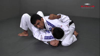 Triangle Choke From North South Position