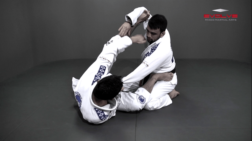 Triangle Choke From Spider Guard
