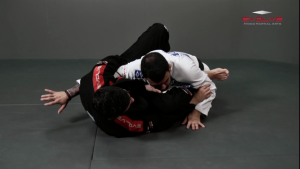 Triangle Choke Variation From Guard