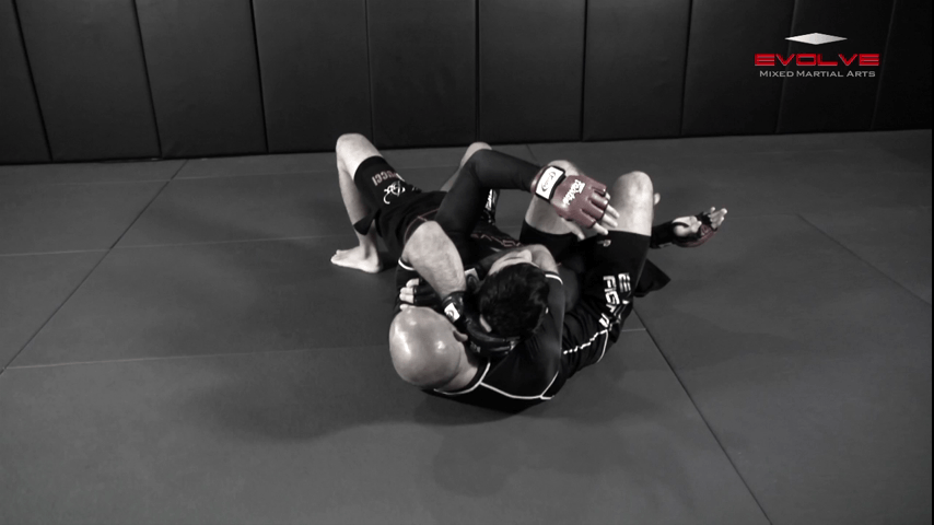 Turtle Position To Crucifix Choke