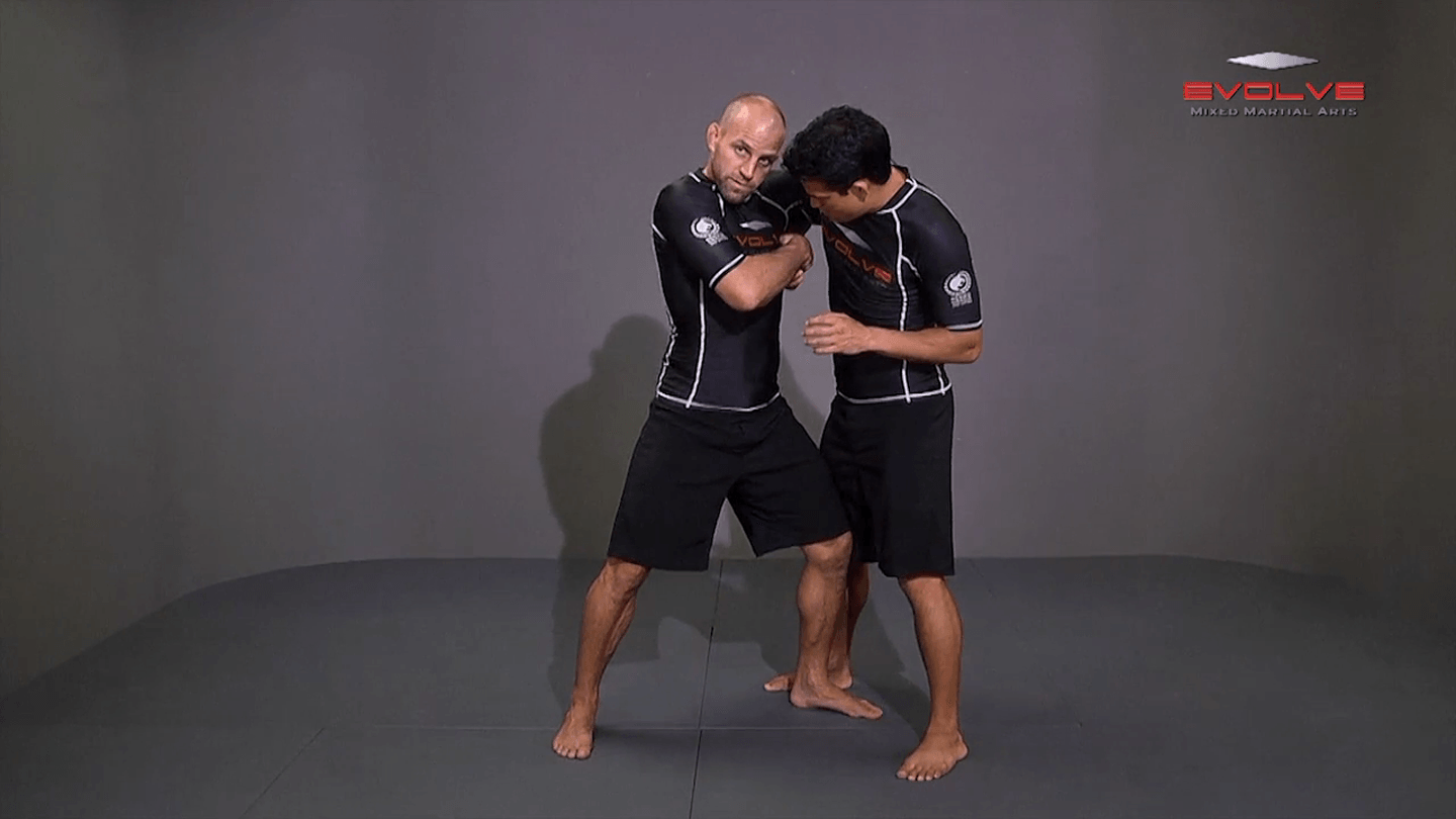 wrestling takedown diagram underhook position to an ankle pick - evolve university
