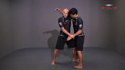Underhook Position Basic Setup Elbow Pop