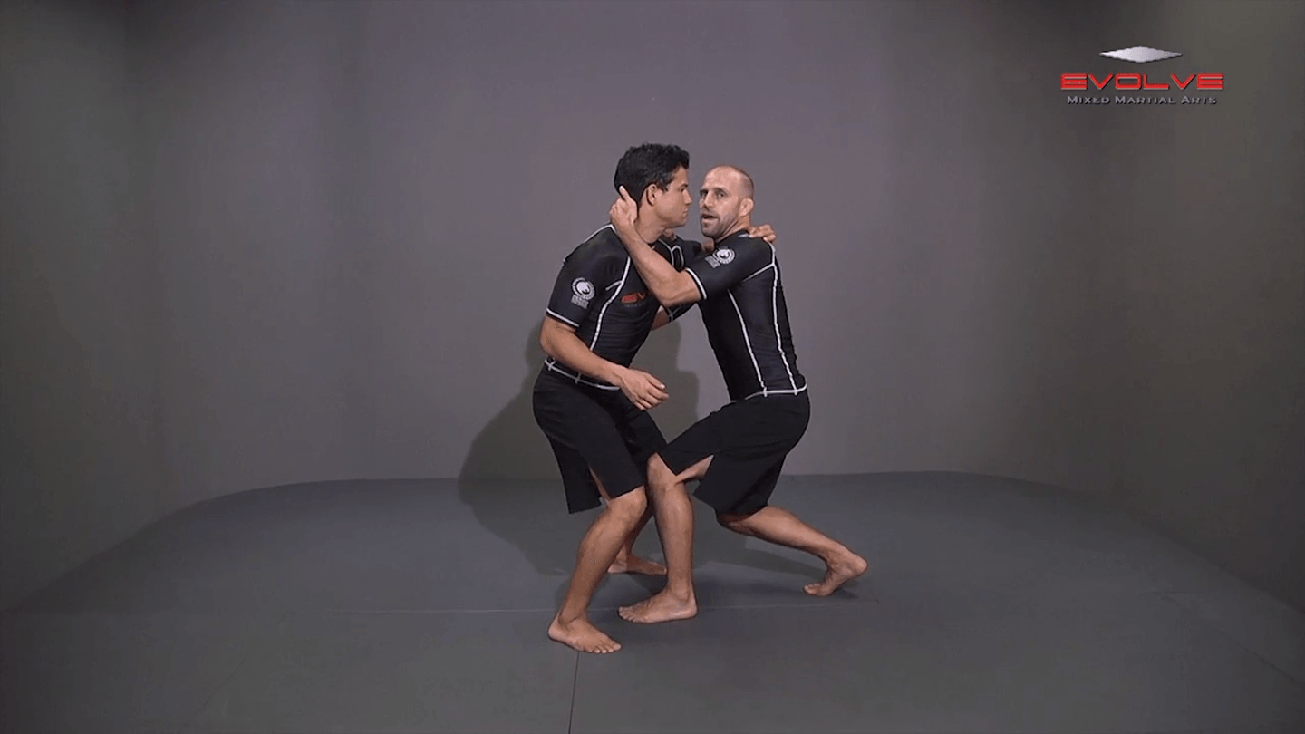 Underhook Position To Bodylock