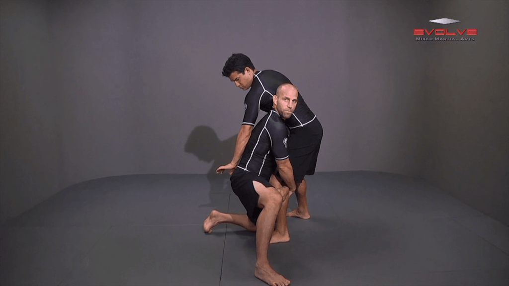 Underhook Position To High Crotch Takedown
