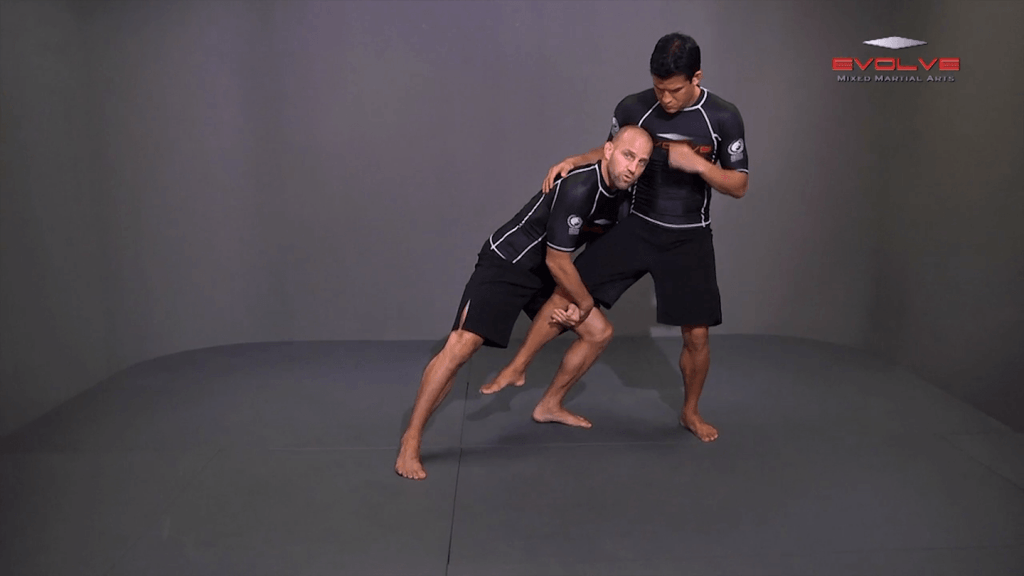 Underhook Position To Outside Single Leg Takedown