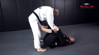 X Guard Sweep To Side Control