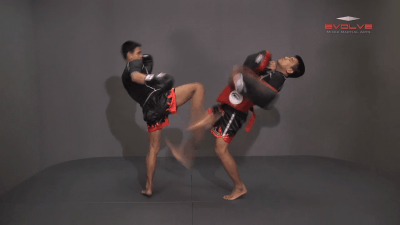 Yoddecha Sityodtong: Kick, High Push Kick