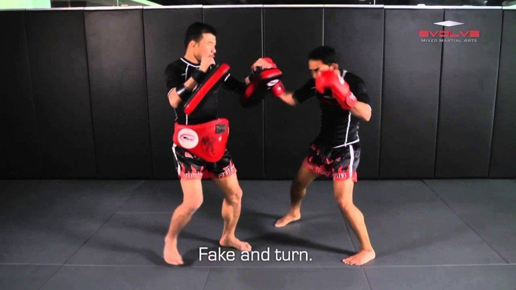 Powerful Muay Thai KO Combination