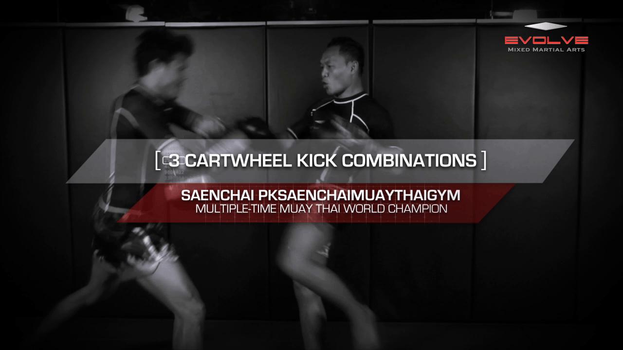 3 Cartwheel Kick Combinations