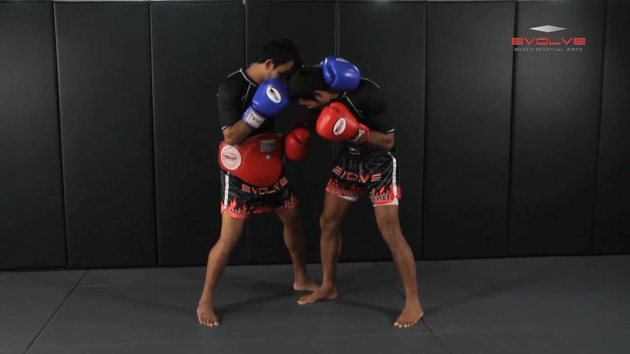 Clinch Boxing – Uppercuts