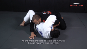 Kimura Defense To Arm Bar Transition