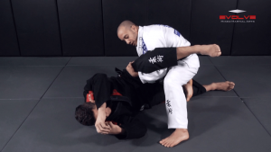 Leg Drag Guard Pass To Back Control