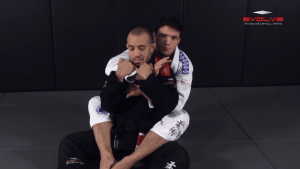 Collar Choke From Back Control