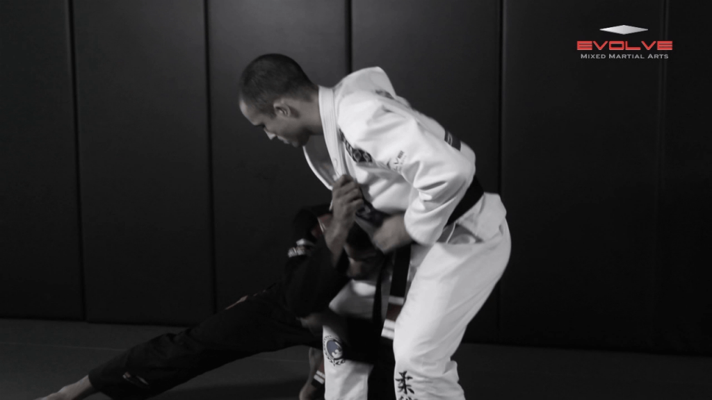 Single Leg Takedown Defense – Take The Back