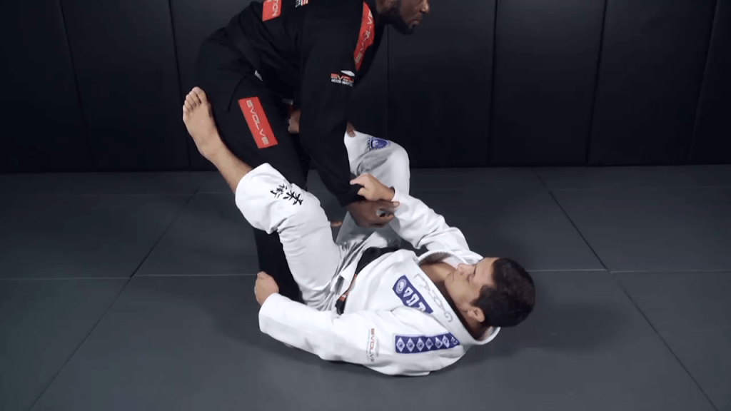 Leg Lock From Open Guard