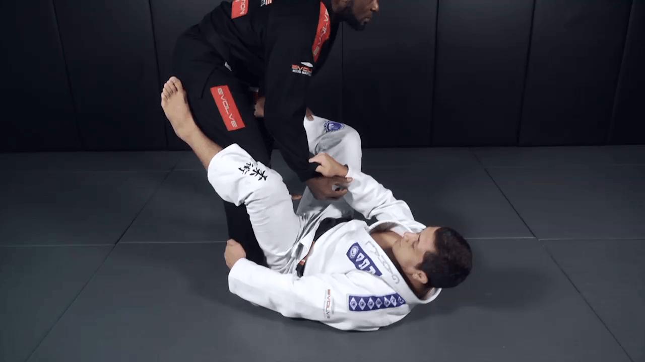 Leg Lock From Open Guard