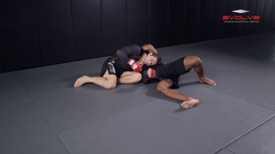 D'arce Choke From Side Control