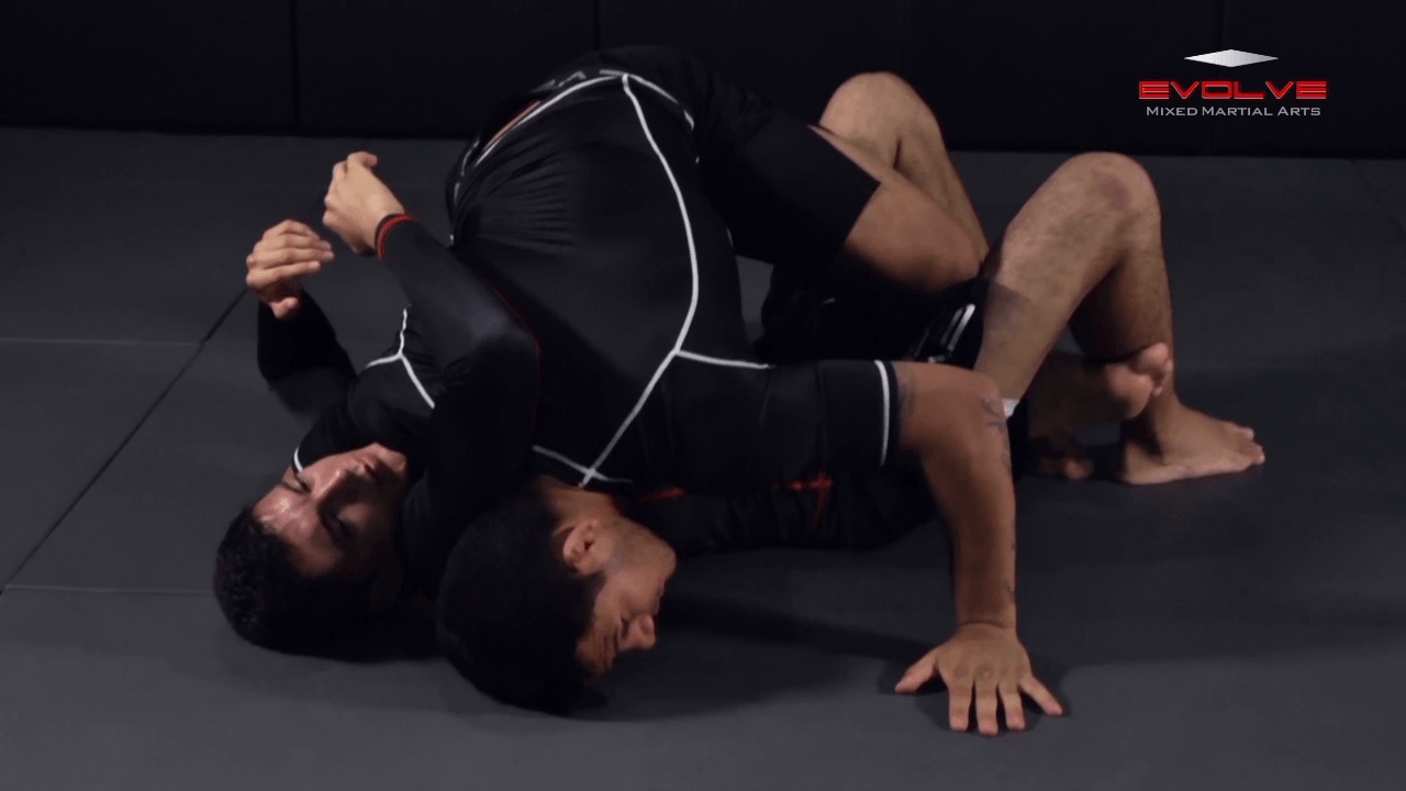 Arm Triangle From Top Half Guard
