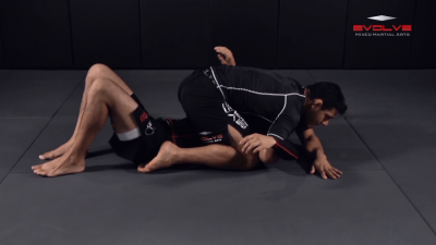 Arm Bar To Full Mount Transition