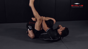 Closed Guard Defense To Omoplata And Triangle Lock Finish