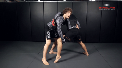 Head Outside Single To Double Leg Finish