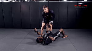 Head Outside Single Leg Takedown To Ground And Pound