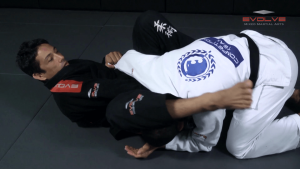 Choke From Open Guard