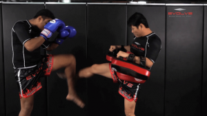 Nonthachai Sit O: Left Block, Right Knee, Right Kick