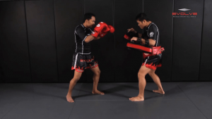 Dejdamrong Sor Amnuaysirichok: Cross Block, Right Low Kick, Right Punch