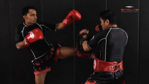Dejdamrong Sor Amnuaysirichok: Left Sweep, Left High Kick, Right Cross