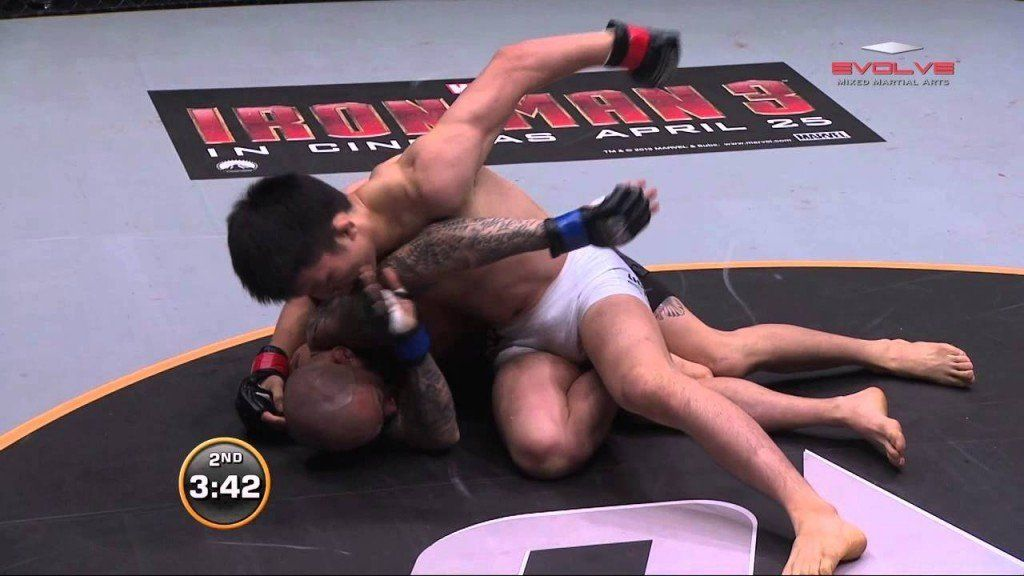 Shinya Aoki Spectacular Submission Setup