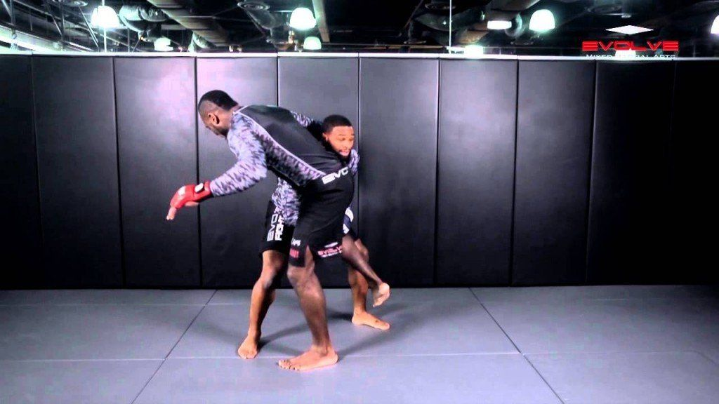 UFC Tyron Woodley Chain Wrestling Finish